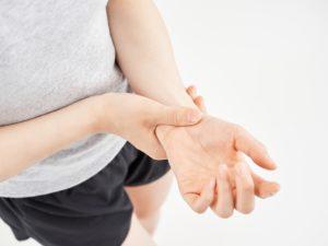 産後のマイナートラブル~手首・指の腱鞘炎~